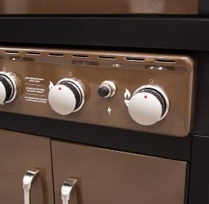 Dyna-Glo Bronze - Individual Ignition Controls