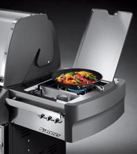 Weber Summit S-470 - Searing Station