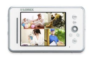 Lorex LW2450 LIVE Video Baby Monitor - color monitor with split screen